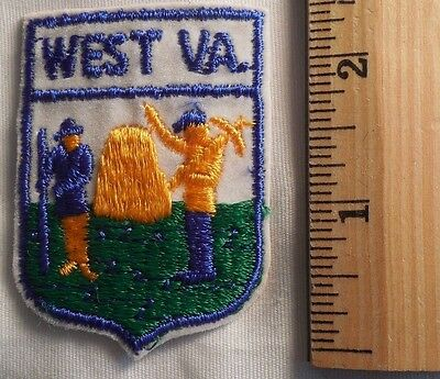 WEST VIRGINIA STATE PATCH (STATE, SOUVENIR)