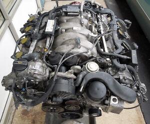 Mercedes benz m273 complete engine motor block heads 5 5l for Ebay motors mercedes benz