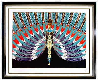 ERTE The Nile Original Serigraph Hand Signed Art Deco Fashion Costume Design SBO