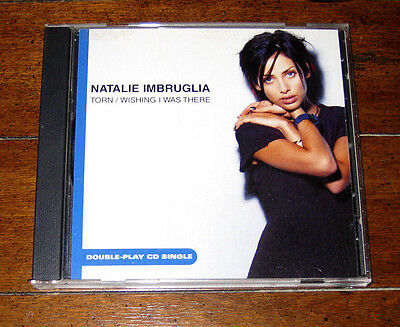 Cd  Natalie Imbruglia   Torn   Wishing I Was There Single Mtv Unplugged 2001 Rca