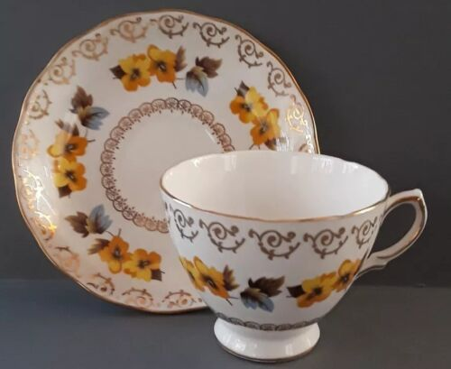 Vintage Colclough Bone China Made In England Cup And Saucer - $15.99
