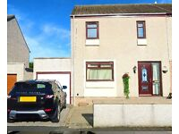 Beautiful End Terraced House with Garage & Driveway in Banff