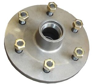 Land-Cruiser-wheel-Hub-6-Stud-Pattern-LM-Bearing-Trailer-Caravan-Boat