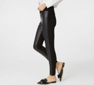 Club Monaco Leather Legging Pants