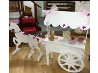 Candy Cart with horse for sale £200.