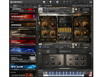 -KONTAKT v5 INSTRUMENTS PC/MAC-
