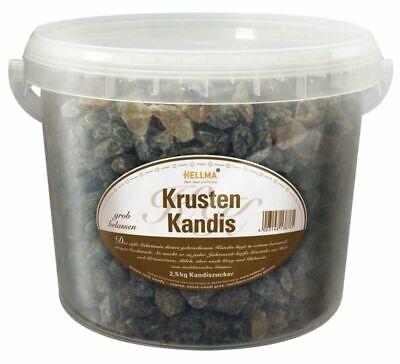 Krusten Kandis - Eimer 2,5 kg Kandiszucker Zucker Großpackung Gastro Hellma