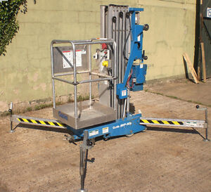 Genie AWP-30 one man lift in good working condition.