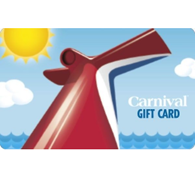 Купить $100 Carnival Cruise Line Gift Card - Email delivery