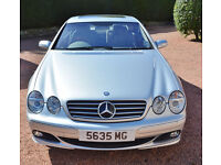 Mercedes CL 500 Coupe 2003 Silver/Lt. Grey 2 Owners