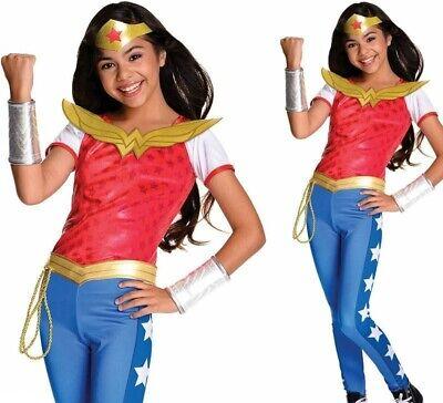 Deluxe Wonder Woman Superheld Mädchen Dc Comics Kinder Kostüm Kleid - Deluxe Wonder Woman Kinder Kostüm