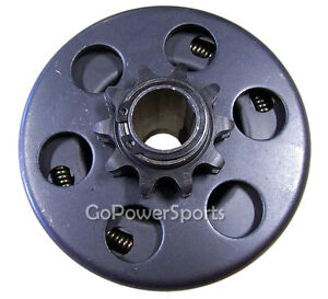 Go-Kart-or-Mini-Bike-Centrifugal-Clutch-3-4-034-bore-10-Tooth-for-40-41-42-Chain