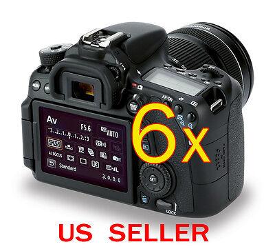 Дисплеи и рамки 6x Canon EOS