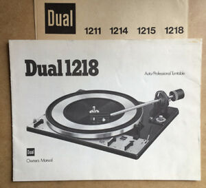 Vintage Audio Equipment Instruction and Owner's Manuals