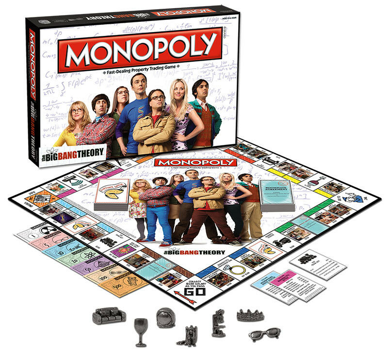 USAopoly MONOPOLY® Call Of Duty, IT, Guardians of The Galaxy, Warhammer  ... BigBangTheory