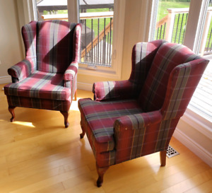 Vogel Wing Back Chairs