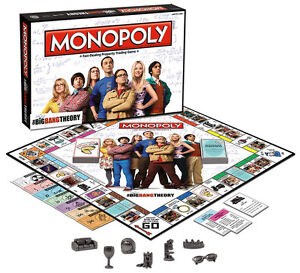 Bazinga! It's The Big Bang Theory Monopoly! at JJ Sports