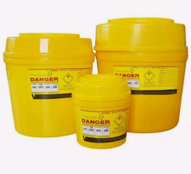 10 X 1 Litre Sharps Bins Container