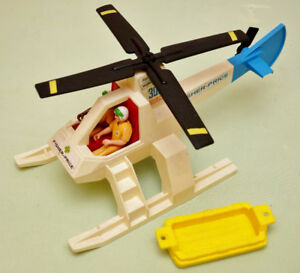 Vintage Fisher Price Adventure Helicopter
