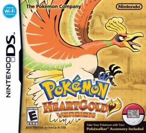 Pokemon HeartGold, Box + Manual + Pokewalker *No Game*