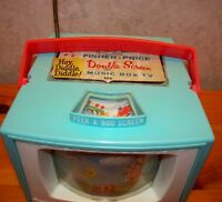 Fisher Price Double Screen Music Box TV 1965 A Voir