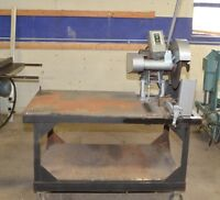 JET METAL CUTTING SAW Model COM-16 & Heavy Metal Stand
