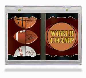 ULTRA PRO ... VERTICAL BOOKLET .. ONE-TOUCHS .. for sports cards