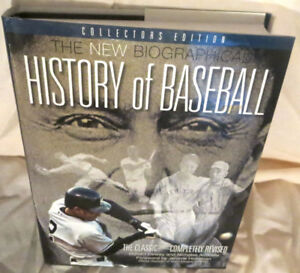 ►New Biographical History of Baseball Book:The Classic◄