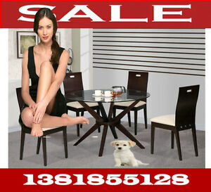 modern dining full sets tables & arm chairs, meuble, 1381t,