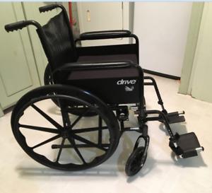 """18 """" wheel chair and cushion"""