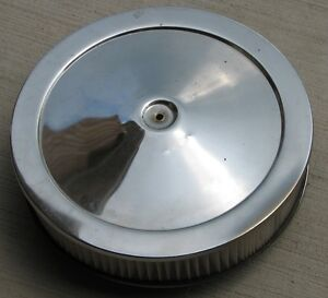 Air Filter and Chrome cover from a Shelby Cobra