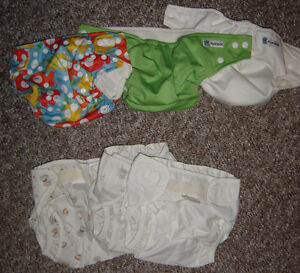 Natural Diapers and Shells