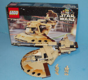 LEGO STAR WARS no 7155, le TRADE FEDERATION AAT