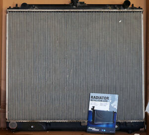 2005-2010 stock Nissan truck radiator, in working condition