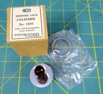 Best Mortise Lock Cylinder Pn 1e66 - Brushed Silver Finish