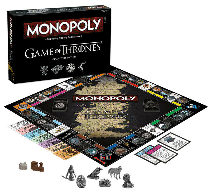 USAopoly MONOPOLY® Game of Thrones, The Walking Dead or Rick and Morty or more GameOfThrones