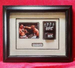 Chuck Liddell -  UFC - Signed fighting glove with Framed Photo