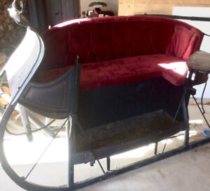 Antique horse sleigh for sale