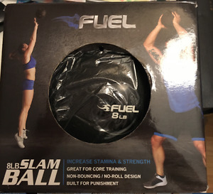 FUEL SLAM BALL 8 LB/3.6 KG Black NEW In Box