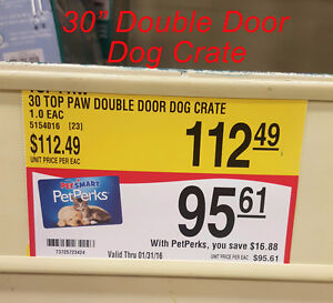"""Midwest double door dog crate NEW IN BOX 24"""" and 30"""" London Ontario image 2"""