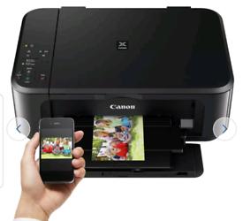Canon PIXMA MG3650S Wireless Inkjet Printer-almost new