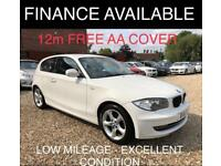 2012 BMW 1 Series 2.0 116i Sport Hatchback 3dr Petrol Manual (143 g/km, 122