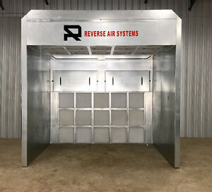 Introducing Spray Booths that require no ducts or vents!!!