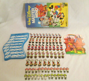 1979 WALT DISNEY MASTER MIND GAME COMPLETE
