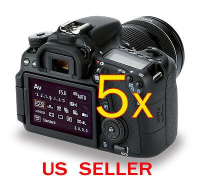 Дисплеи и рамки 5x Canon EOS