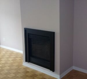 Foyer au Gaz / Gas Fireplace