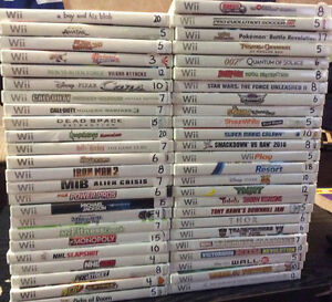 Wii Games Over 50 Games and Accessories!!