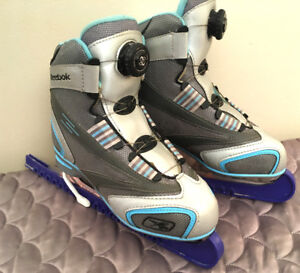 Girls Size 6 Skates w/ BOA Lacing System SEE VIDEO