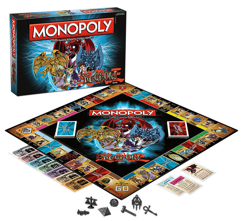 USAopoly MONOPOLY® Call Of Duty, IT, Guardians of The Galaxy, Warhammer  ... Yu-Gi-Oh