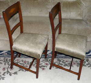 New Price - Pair Mahogany Side Chairs. Antique George III Period Kingston Kingston Area image 2